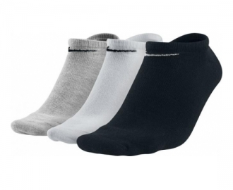 Nike socks pack 3 value no show